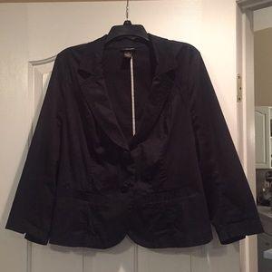 Lane Bryant black blazer